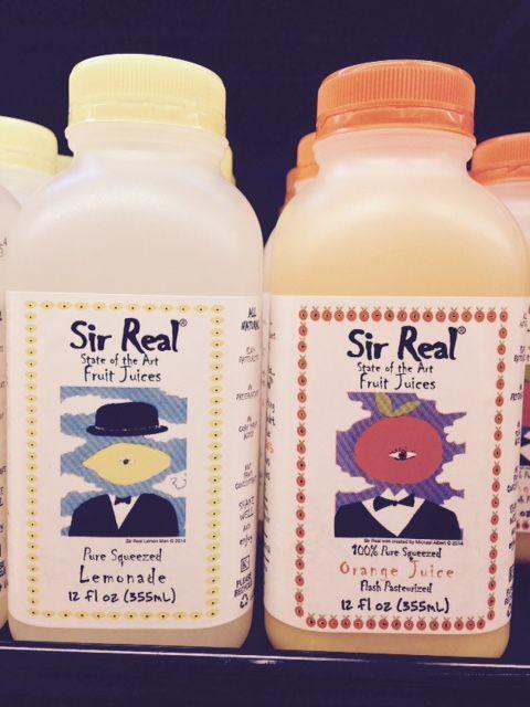 Sir Real 12 oz Orange Juice & Lemonade