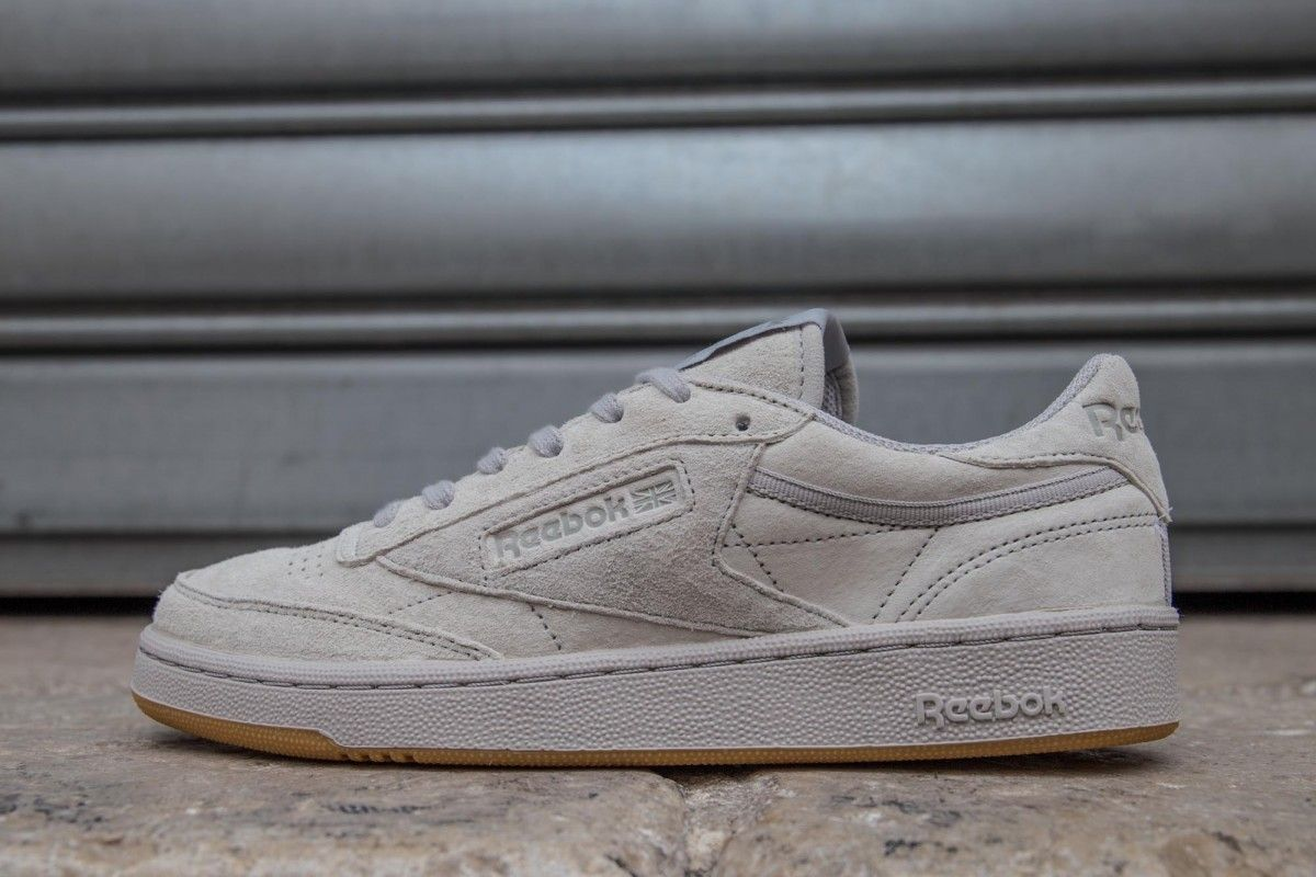 REEBOK CLUB C 85 TG STEEL CARBON GUM  8cd864458