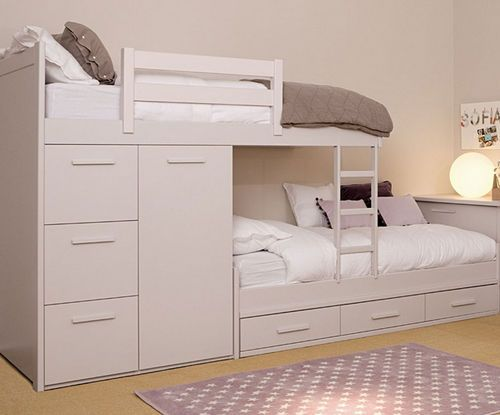 etagenbett f r kinder junge und m dchen asoral zimmer. Black Bedroom Furniture Sets. Home Design Ideas