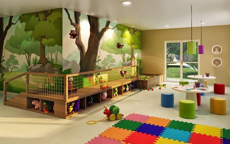 Play Corner Sala De Juegos Para Niños Espacios Para Niños Guardería En Casa