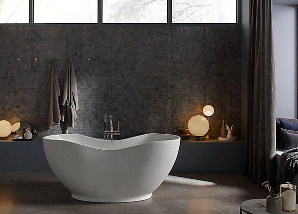 Kohler Vasca Da Bagno : Kohler freestanding baths are one of life s little luxuries