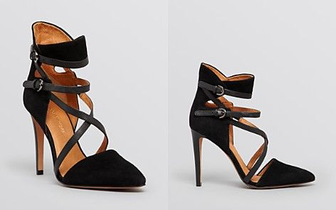 outlet 2014 Rebecca Minkoff Pointed-Toe Caged Pumps cheap with paypal qb1s8zv