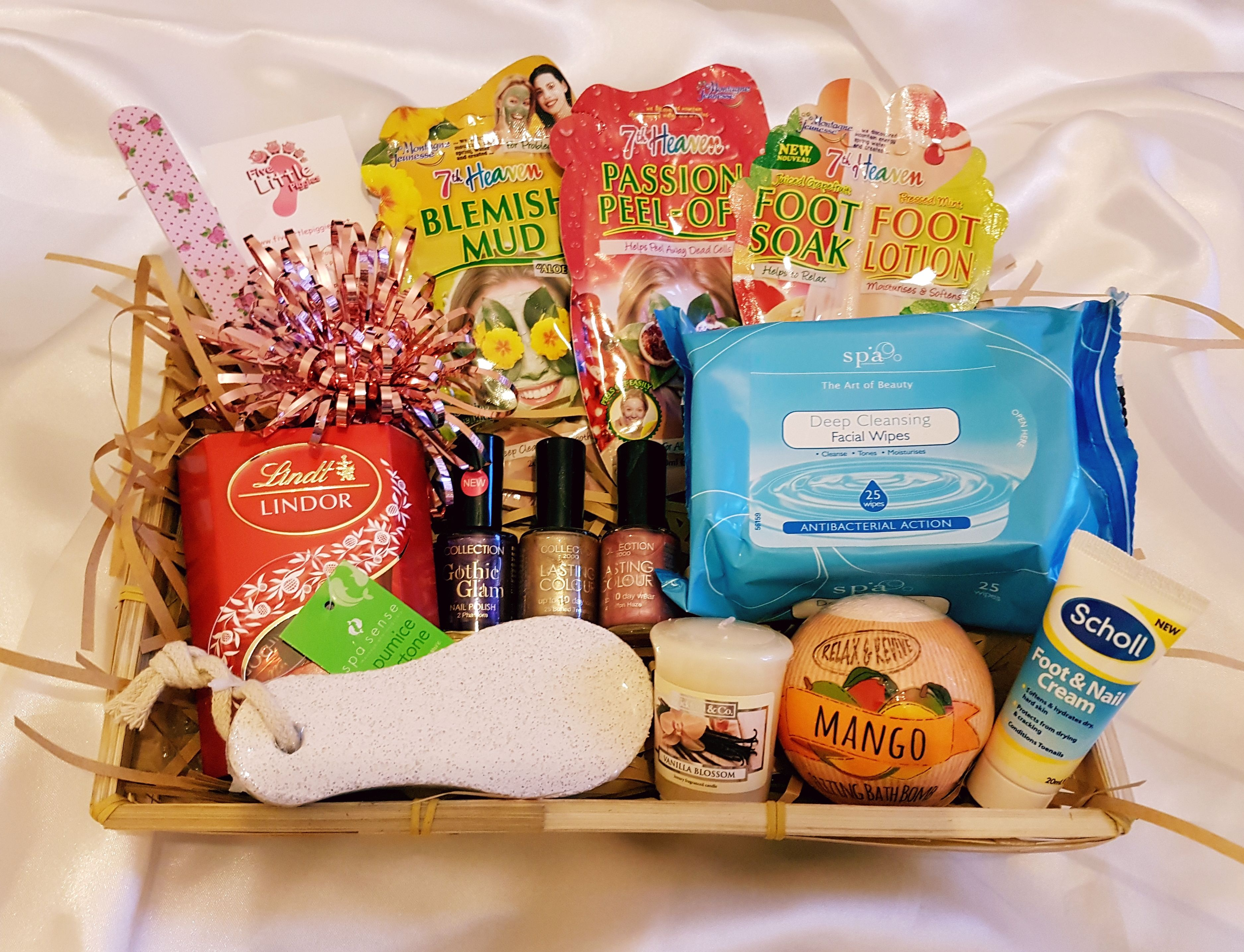 Pamper gift hamper (With images) Xmas hampers