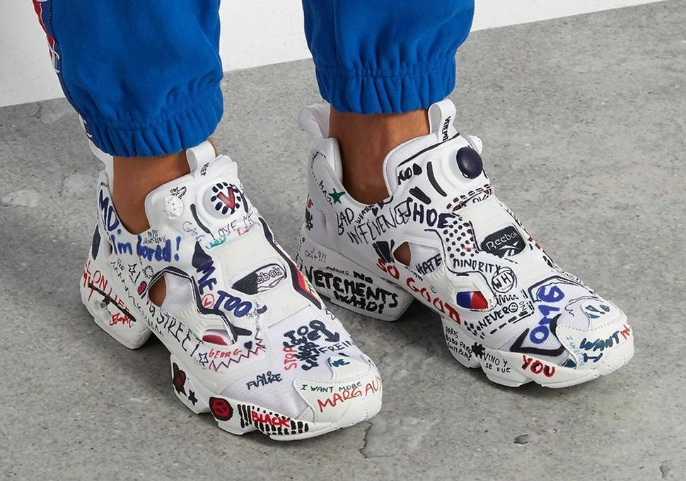 Vetements x Reebok Instapump Fury Set To Release - EU Kicks Sneaker Magazine