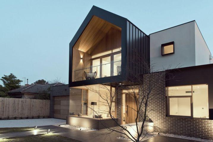Maison contemporaine avec un intérieur moderne Pinterest - facade de maison contemporaine