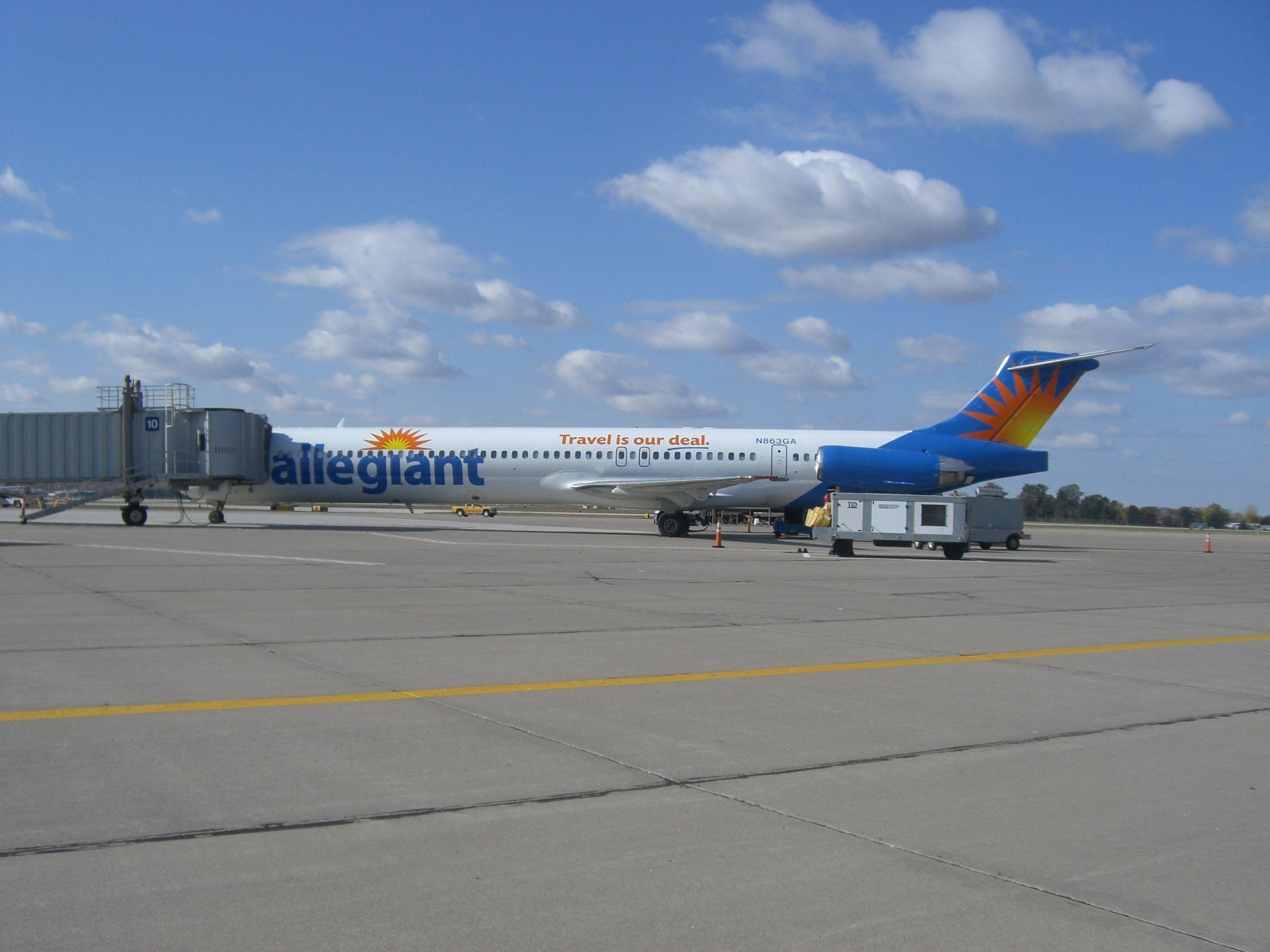 Allegiant Travel Is Our Deal At The Gate Quad City International Airport Quad Cities Moline Quad