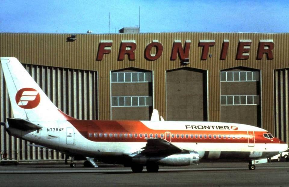 Early 1980s Denver Maintenance Base Vintage airlines