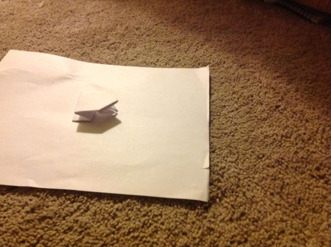 How to Make Hopping Origami Bunny (Frog Included) - Snapguide   500x670