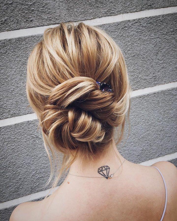 Gorgeous Twisted Updos Wedding hairstyle | fabmood.com #weddinghair #updobraid #updos bridal hair ,updo hairstyles #hairstyles #weddinghairs #weddingupdos