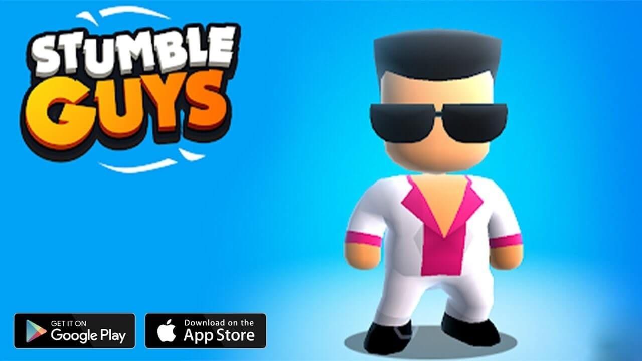 Stumble Guys Mod Apk 0 19 Unlocked Skins Download Guys Mod Fun Run
