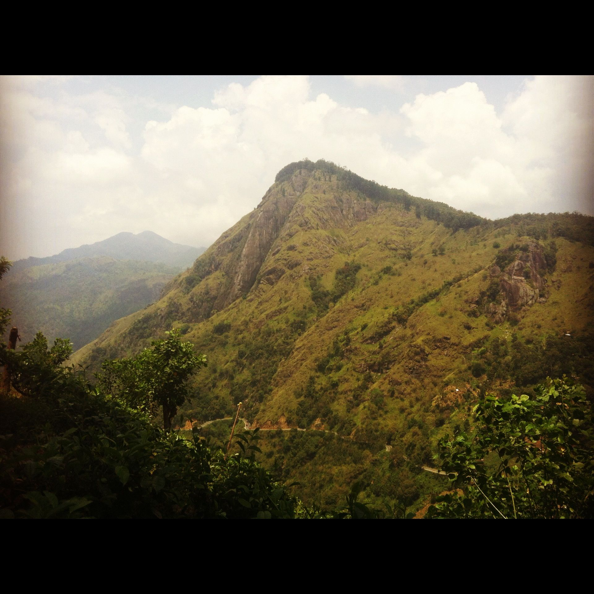 Hill Country. Sri Lanka