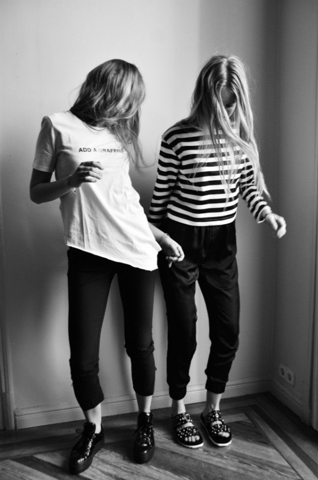 IN2ITION by Johansson Sisters - Like a Black and White Story