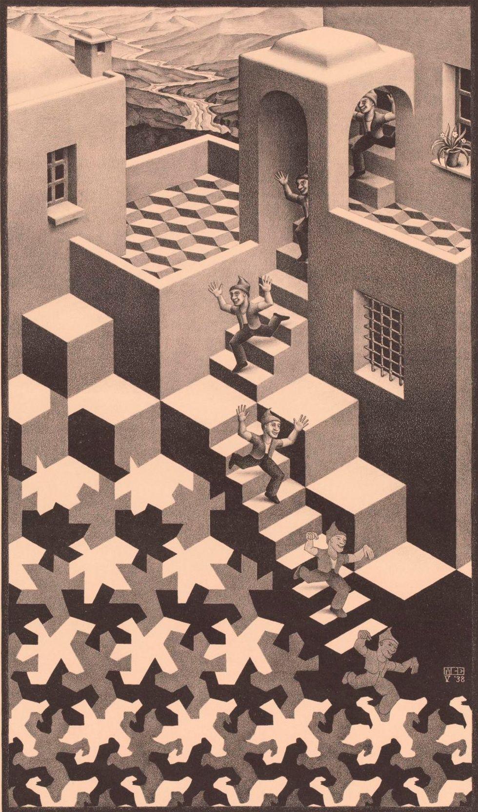 14 Obras De Escher Que Nunca Nos Cansamos De Ver Arte De Escher Arte Extrano Arte Optico