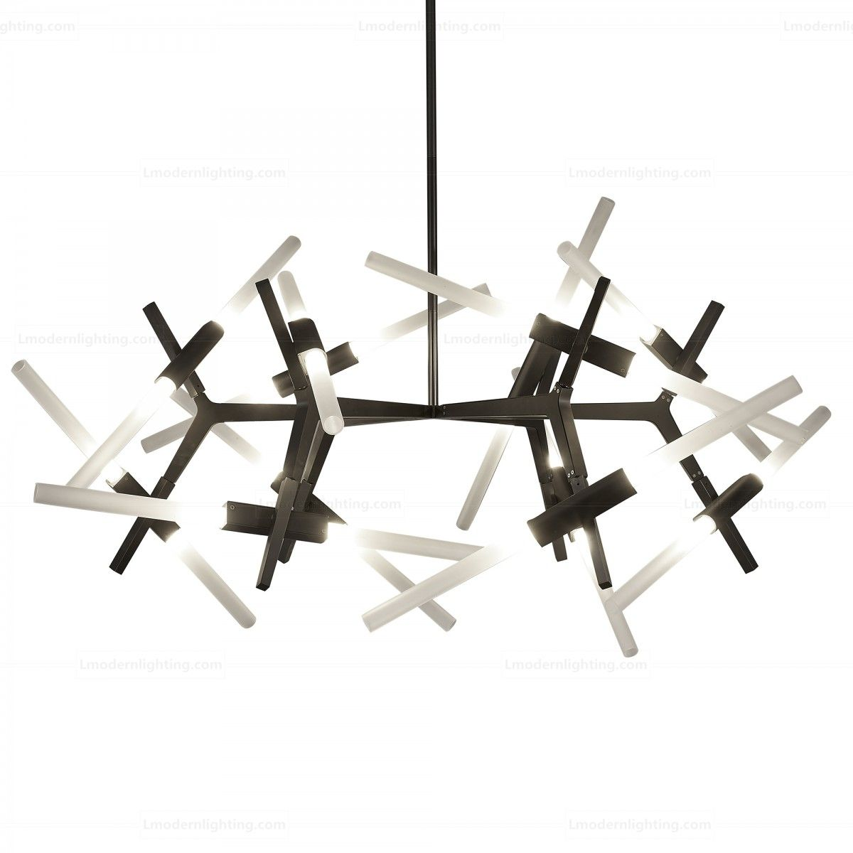Astral Agnes Chandelier 24 Lights Horizontal | Designer ...