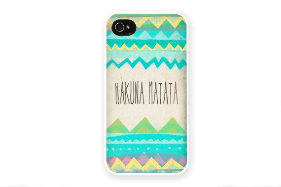 Hakuna Matata iPhone Case / Disney iPhone 5S Case by afterimages ...