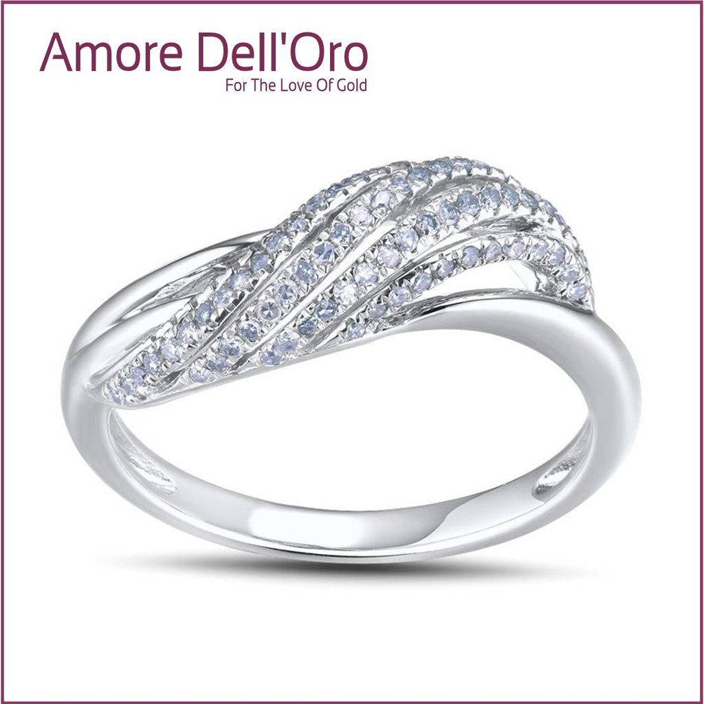 Alyssa 14kt Wedding Ring With Diamonds White Gold Wedding Rings Engagement Jewelry Wedding Rings
