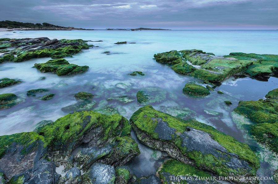 Southeastern coast of Mallorca, Spain