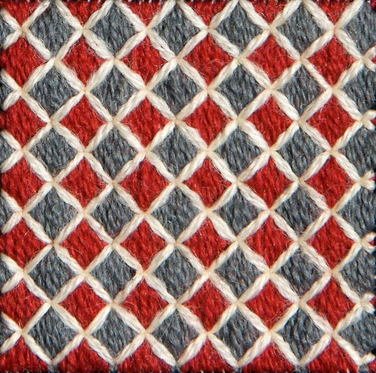 Stitch 76 Hungarian Tile Work Needlepoint Pinterest Stitch