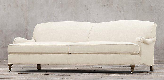 Sofas | Restoration Hardware  Barclay Collection 6 Lengths, 2 Depths, 93  Fabrics