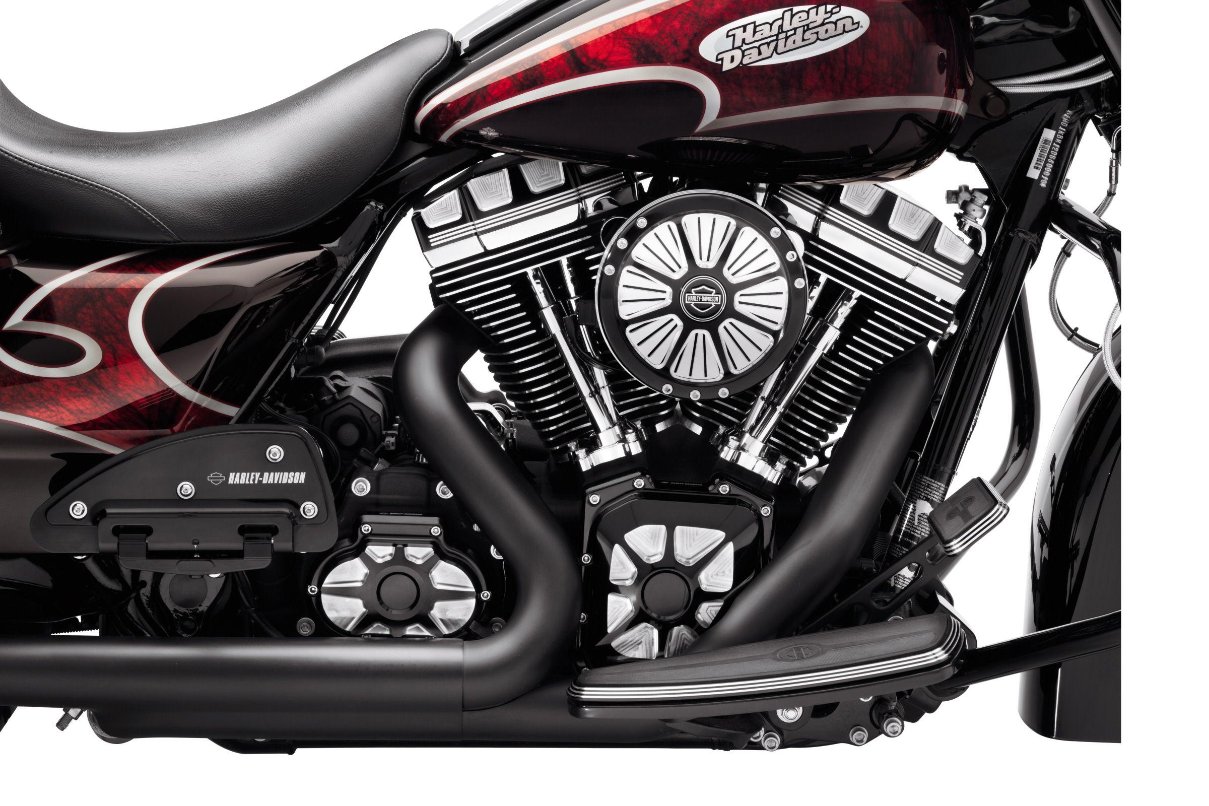 Burst Transmission Side Cover Bike Gear Harley Davidson Motorcycle