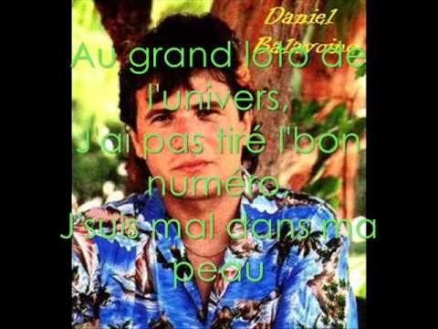 Sos D Un Terrien En Détresse Daniel Balavoine Lyrics Wmv Music Artists Daniel Music