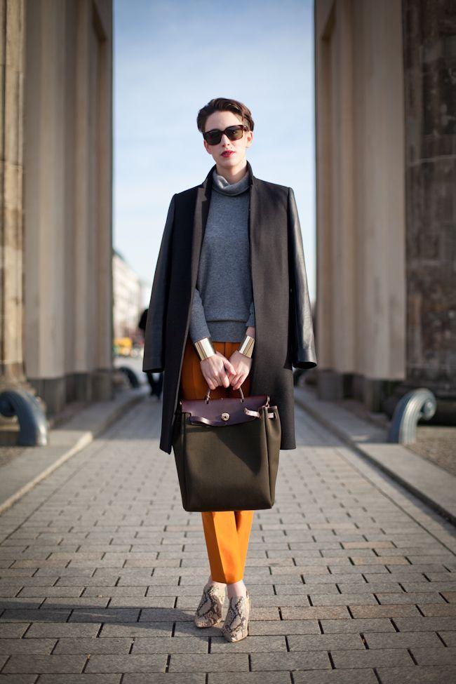 Berlin Fashion Week: Orange Highlights