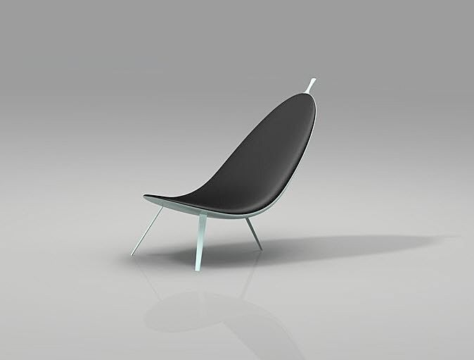 The Organic Lounge Chairs By Chinese Architect Michael CK Chan