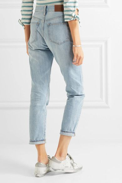 The Perfect Summer Cropped High-rise Straight-leg Jeans - Light denim Madewell Wholesale Price Cheap Price Low Shipping Sale Online Many Kinds Of  Pre Order For Sale Best Cheap Price nDONhDmYa