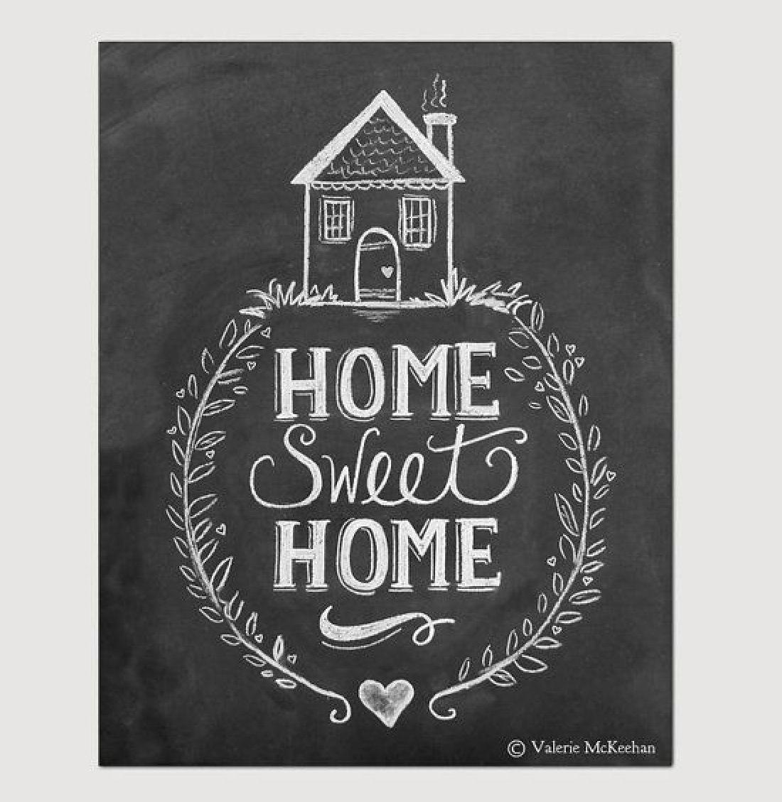 home sweet craft ideas pinterest criture et d co. Black Bedroom Furniture Sets. Home Design Ideas