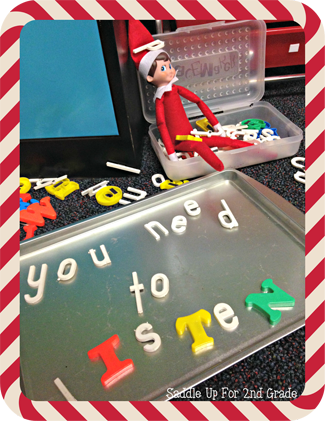 Elf on the Shelf Ideas for the Classroom  Page 9 of 15  Paiges Party Ideas