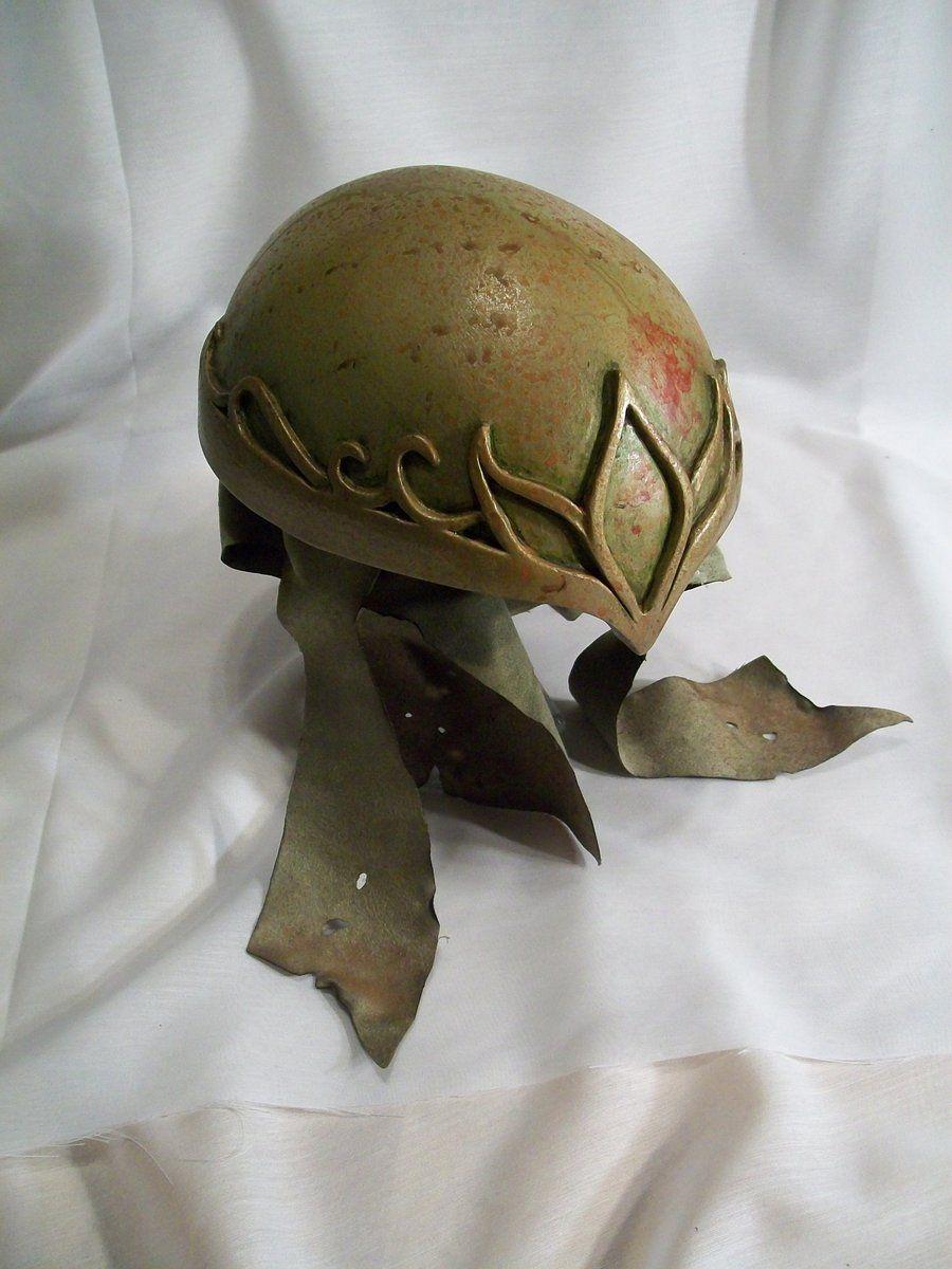 Elven Fantasy Helmet by sssberg.deviantart.com on @deviantART