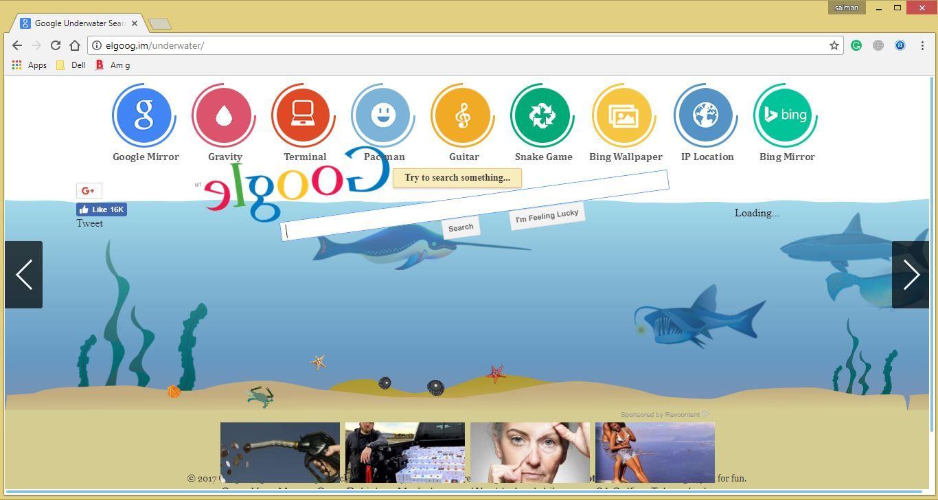 "Amazing Google Tricks ""GoogleUnderwater"" Google tricks"