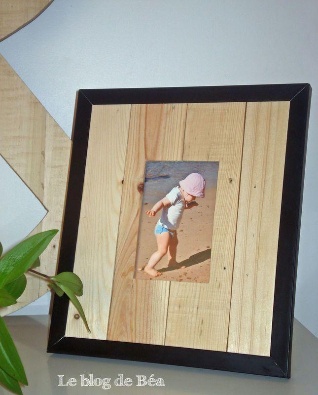 pas pas comment fabriquer un cadre photo avec des. Black Bedroom Furniture Sets. Home Design Ideas