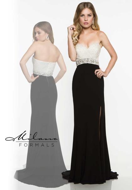 last season's prom dresses