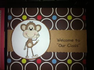 """Class full of """"Special"""" Kiddos: Welcome cards to my Kinders"""