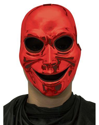 Red Sinister Ghost Mask Holidayhalloween Halloween Spirit