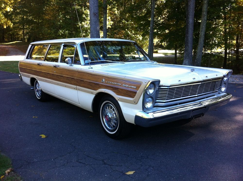 1965 Ford Country Squire Wagon Ford Galaxie Wagon Galaxie