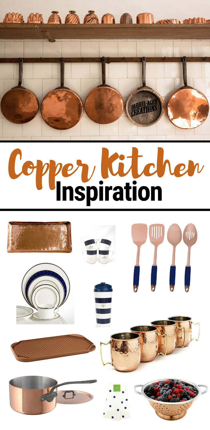10 Items For Every Copper Kitchen Barrel Aged Creations Copper Kitchen Decor Copper Kitchen Appliances Copper Kitchen