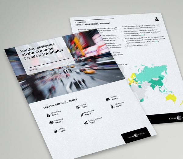 MagnaGlobal Infographic Excel Template on Behance about Game