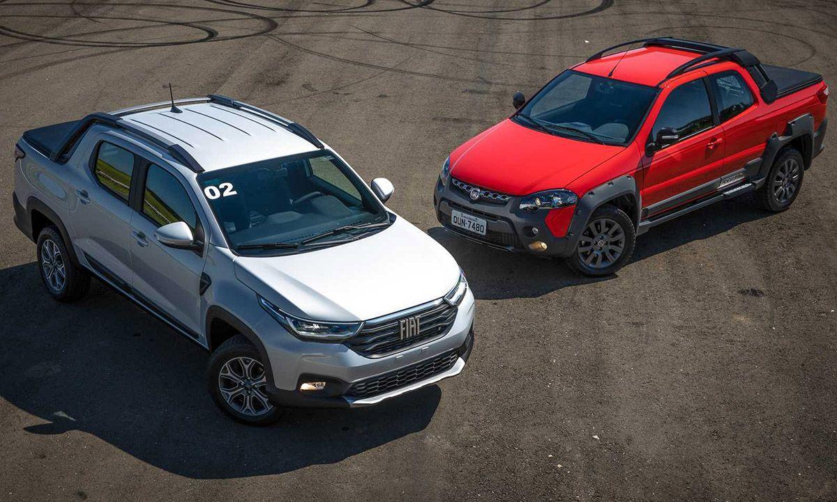Nueva Fiat Strada 2020 Todas Las Fotos Y Como Queda Frente A La