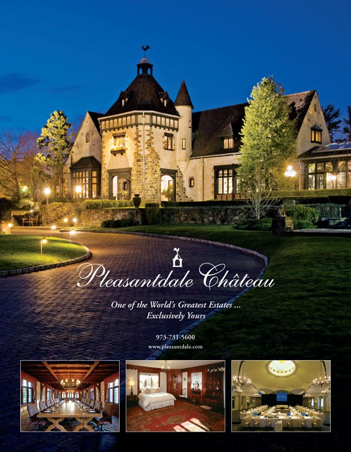 Hotel Advertisement, Pleasantdale Chateau, New Jersey