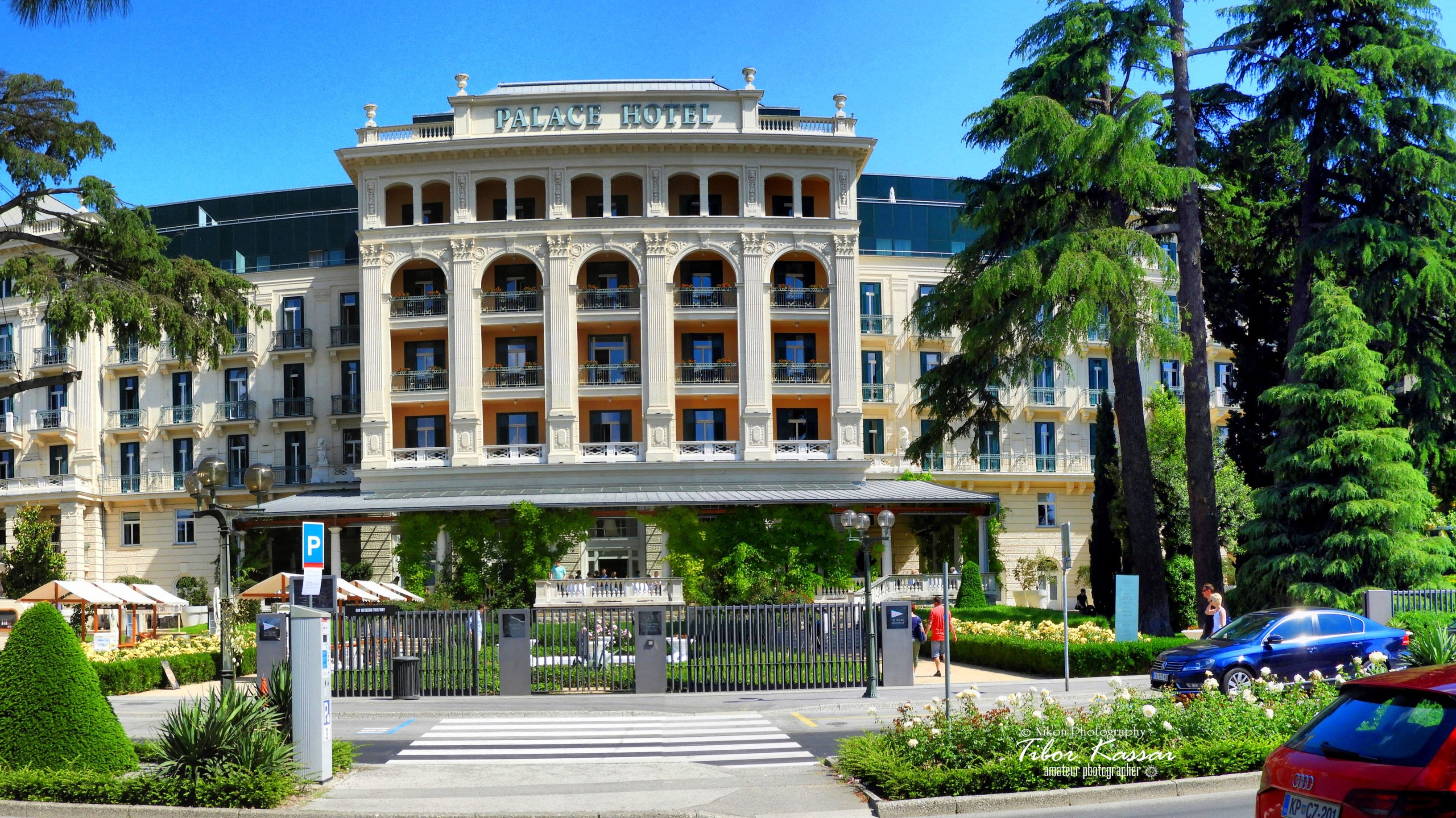 Palace Hotel In Portoroz Port Of Roses Slovenia Nikon - Palace-hotel-in-slovenia