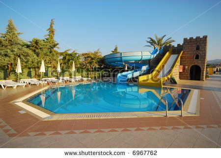 Big Houses With Pools | The Big Beautiful Country House With Pool Stock  Photo 6967762 .
