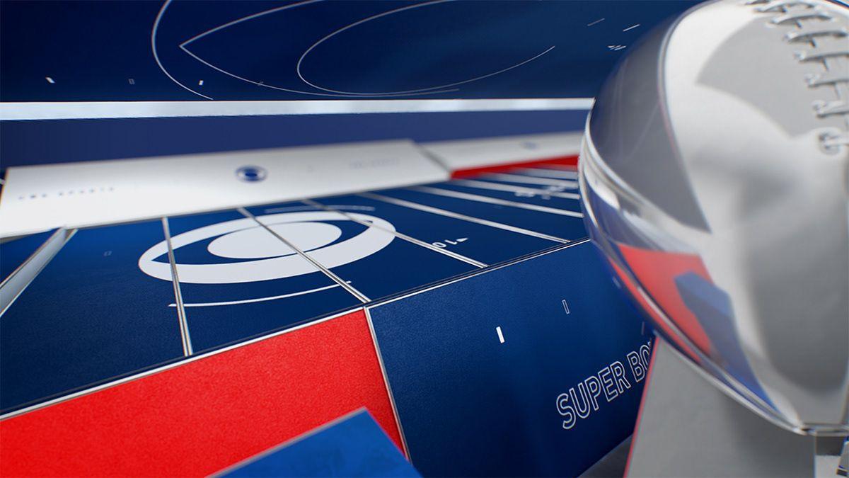 SUPERBOWL 2019 on Behance Super bowl, Sports graphics