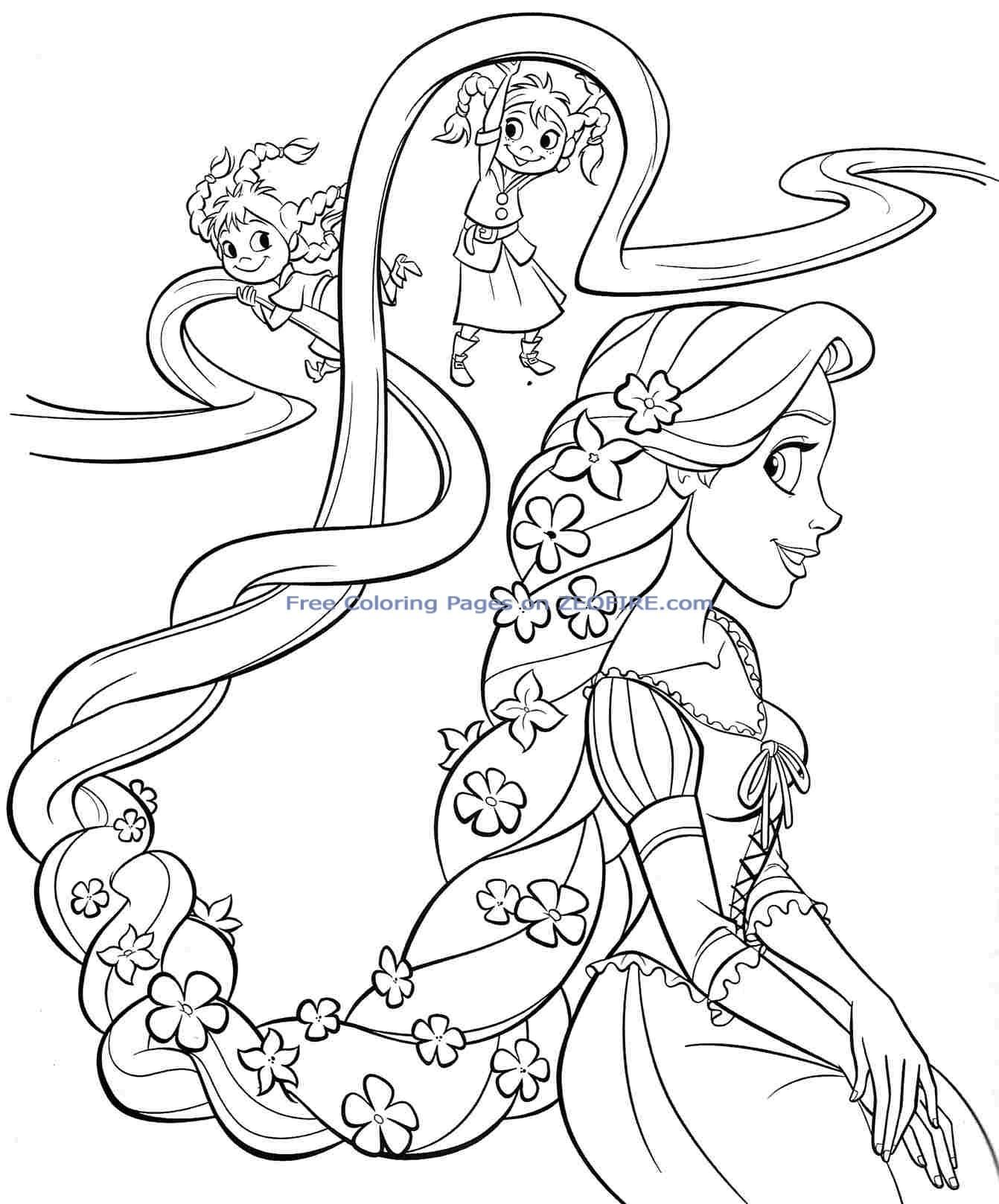 Amazing Princess Coloring Pages Printables 88 | Coloring pages for ...