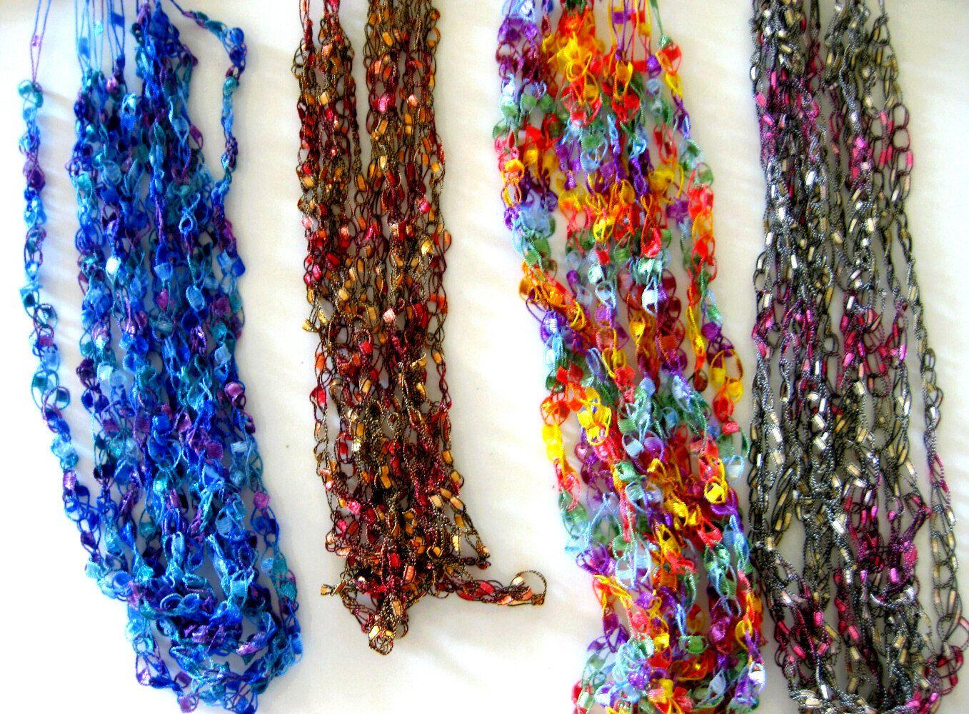 51 Crochet Necklace Patterns - The Funky Stitch