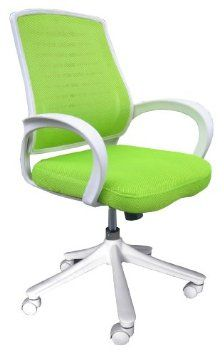 Amazon Com Comfort Products 60 51840006 Iona Mesh Chair Mesh Apple Green Office Products Mesh Office Chair Office Chair Chair