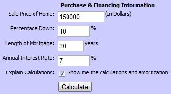 8 Reliable Mortgage Refinance Easy to Use Online Calculators. (screenshots)