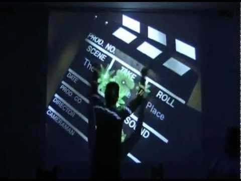 LWall Demo | Interactive Wall | Medellin, Colombia | The Movie Place