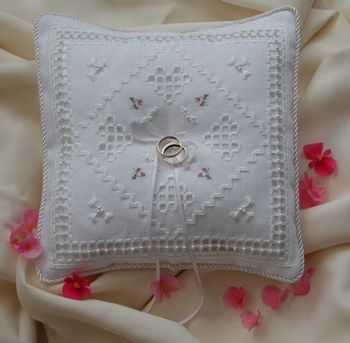 Col S Creations Traditional Hardanger Designs The Pillows Cushions Collection Make Beautiful Gifts For Births Weddings Or Just Becaus